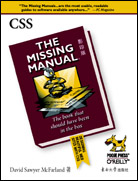 CSS The Missing Manual(影印版)